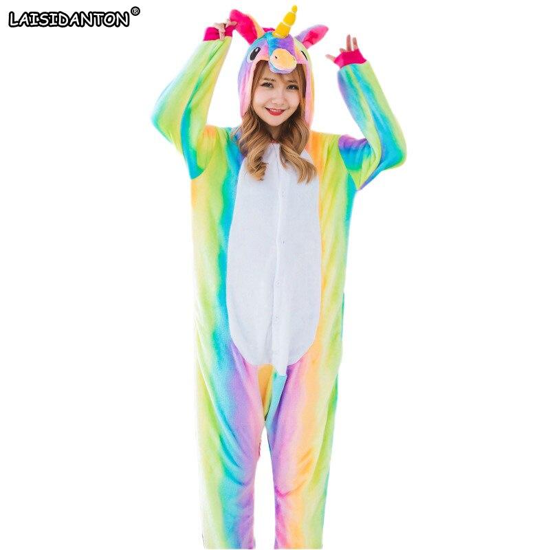 Новый взрослый pijama де, пижамы наборы Для женщин Для мужчин унисекс животных Kigurumi мультфильм Onesie пижамы детские пижамы для мальчиков и девоч...