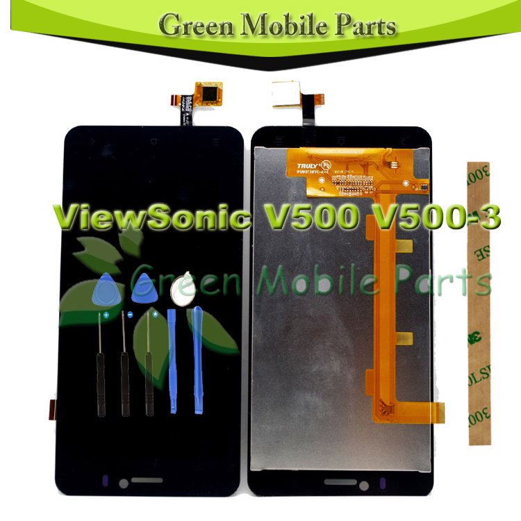 100 Tested 5 5 inch Touch Screen For ViewSonic V500 V500 3 LCD Display Digitizer Complete