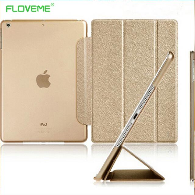 iPad Mini 1/2/3 Three Fold Luxury  Glitter Silk Flip Ultra Thin Cover
