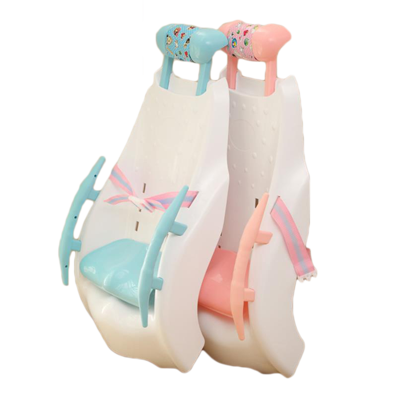 Without Music Children Shampoo Chair Baby Shampoo Bed Children's Shampoo Adjustable Folding Chair