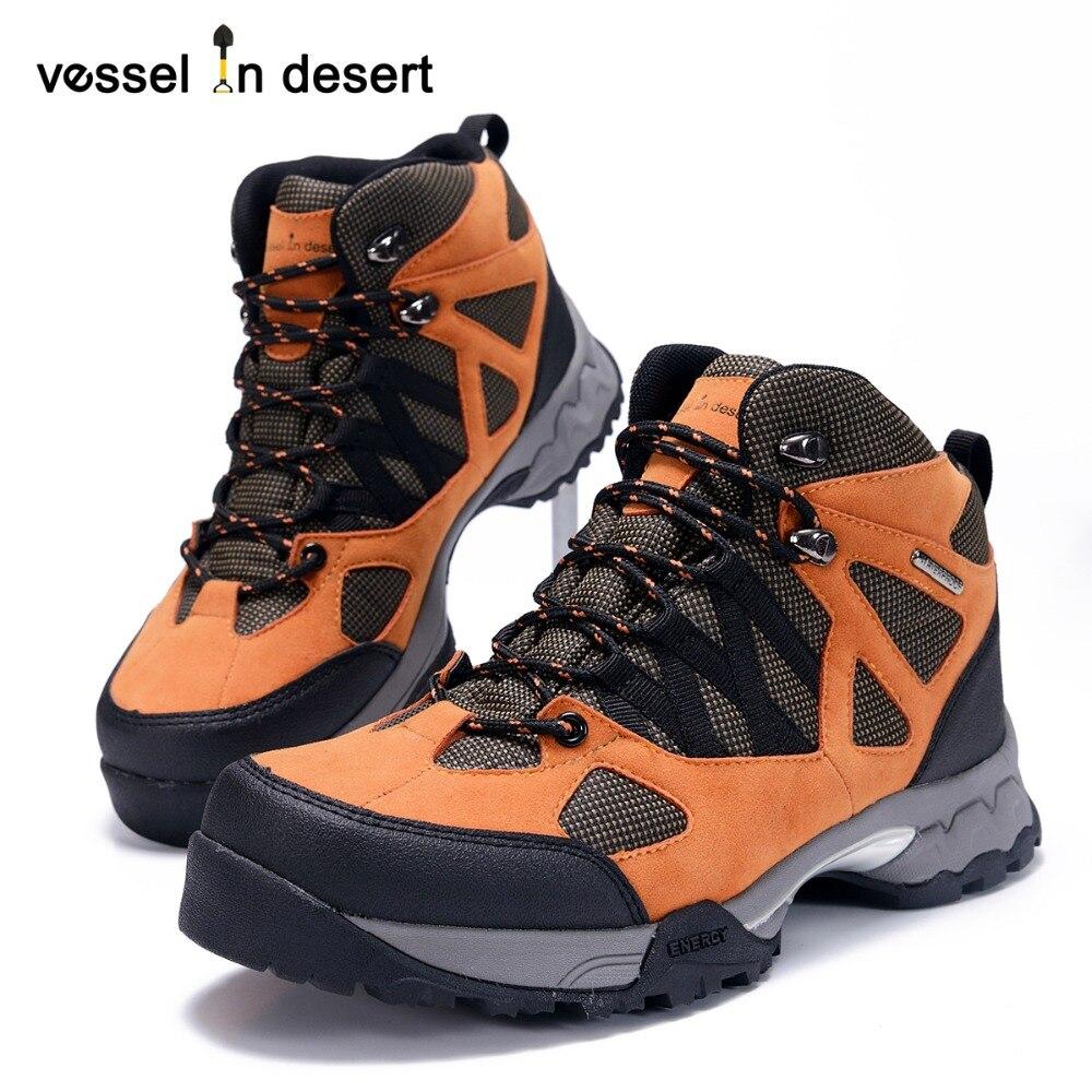 Vessel In Desert Hot Sale Hoogwaardige Waterdichte Heren Wandelschoenen Outdoor Ademende Laarzen Sportschoenen Gratis Verzending