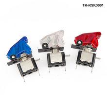 Гоночный набор переключателей Автомобильная электроника/панели переключателей-флип-ап старт/зажигание/аксессуар для Ford F250 6.0L TK-RSK3001