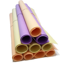 Papel colorido do ofício de eva das folhas do papel 20 da espuma de foamiran 50x50 cm 1mm materiais diy spong papéis decoração da escola para crianças