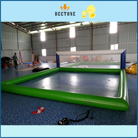 Hot summer water sports water games inflatable volleyball court