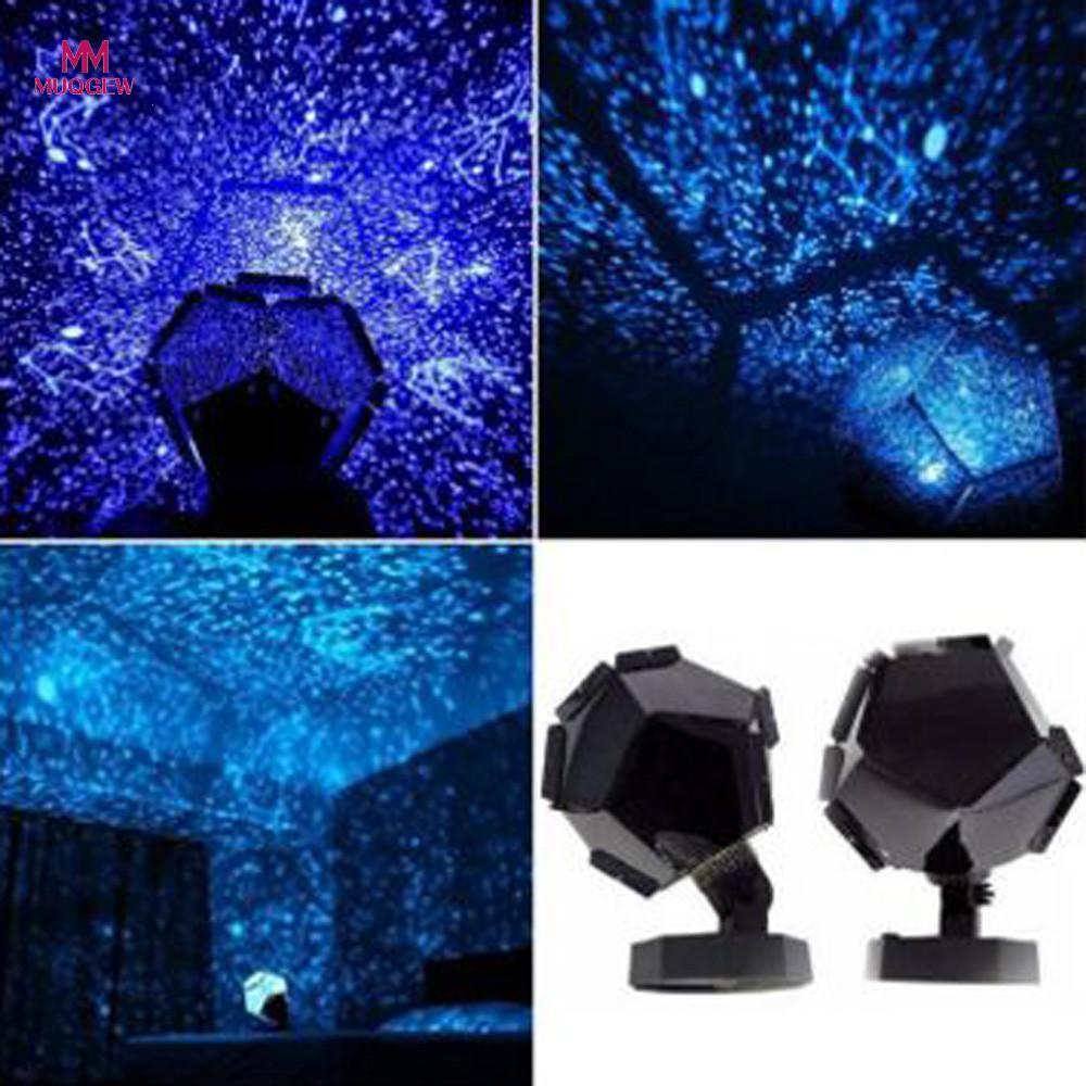 MUQGEW 2017 New Celestial Star Cosmos Night Lamp Night Lights Projection Projector Starry Sky Christmas Halloween Lighting Decor
