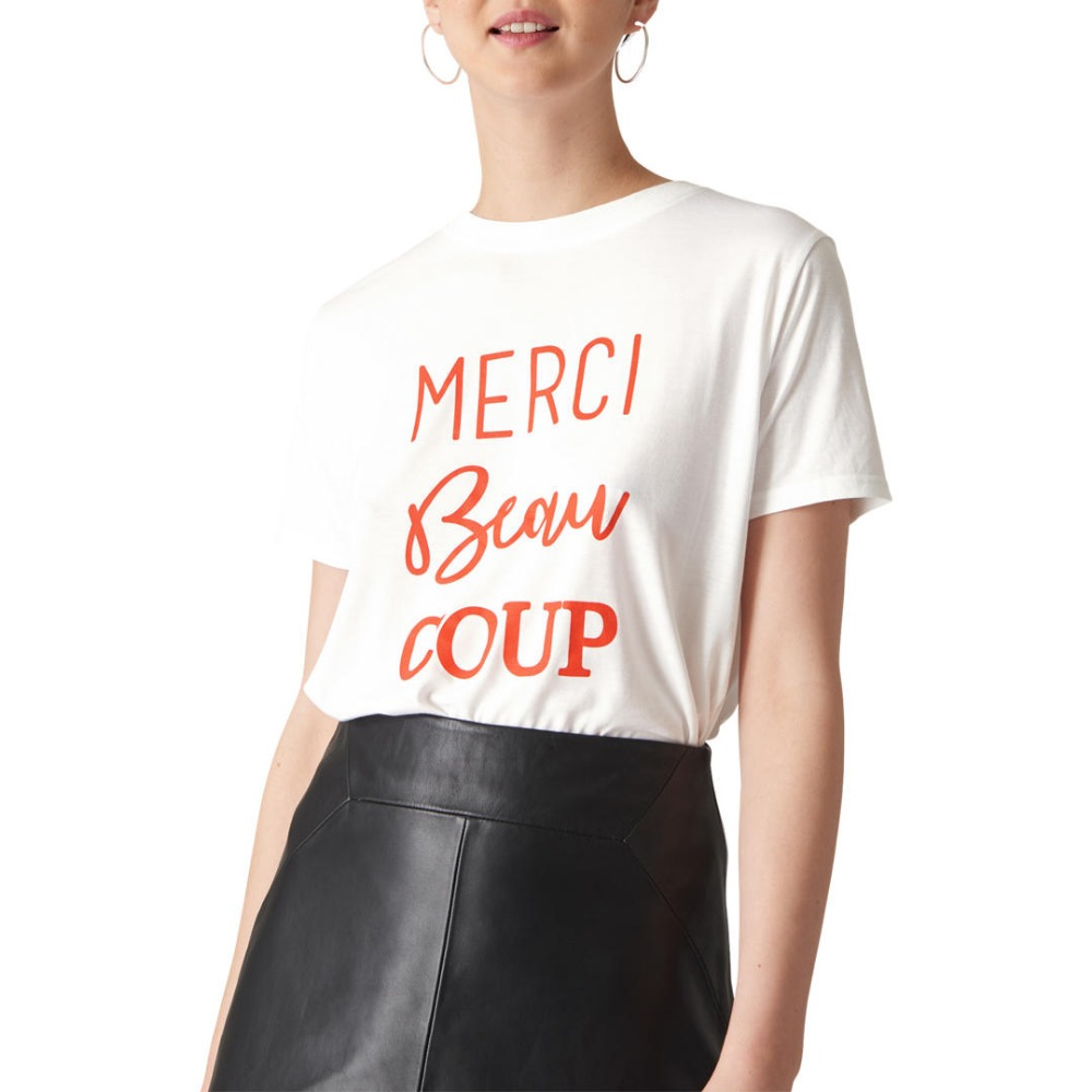 buy french merci beau coup t shirt cotton. Black Bedroom Furniture Sets. Home Design Ideas