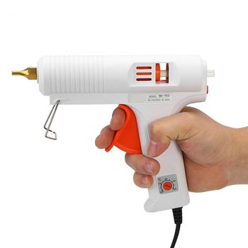 110W Hot Melt Glue Gun with Adjustable Constant Temperature used as Craft Repair Tool