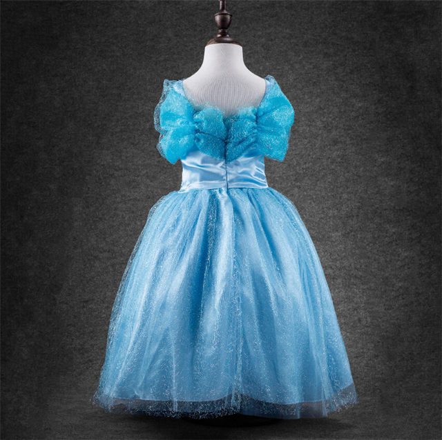Online Shop Cinderella Princess Dress tutu summer girls dresses for ...