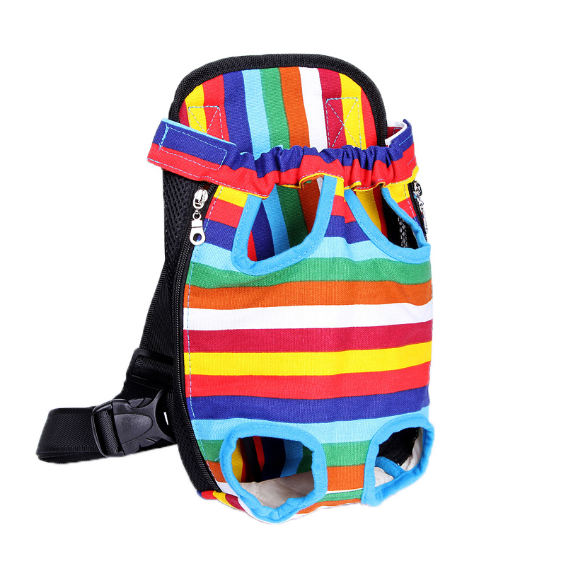 Suen Party Decoration Store Pet Carrier Dog Front Chest Backpack Five Holes Backpack Dog Outdoor Carrier Tote Bag Sling Holder Mesh Cat Puppy Dog Carrier