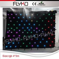 Işıklar ve Aydınlatma'ten Sahne Aydınlatması Efekti'de Taşınabilir led DJ kabini konut sahne zemin led video bez perde partiler için