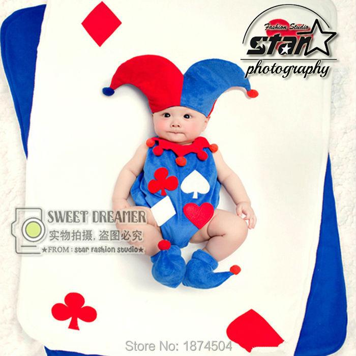 Naughty Baby Romper Clowns Cosplay Hallowean Romper Jumpsuit Funny Joker Cute Costume Baby Kids Halloween Party Clothing