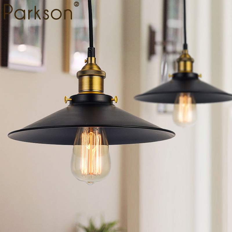 Vintage Pendant Lights Industrial Loft American Retro Lamps Creative Restaurant Dining Room Lamp Bar Counter E27 modern Holder