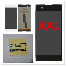 Black White For Sony Xperia XA1 G3121 G3112 G3125 G3116 G3123 LCD Display Digitizer Touch Screen Assembly Repair Parts аксессуар защитное стекло sony xperia xa1 g3121 g3123 g3125 svekla 3d black frame zs svsog3121 3dbl