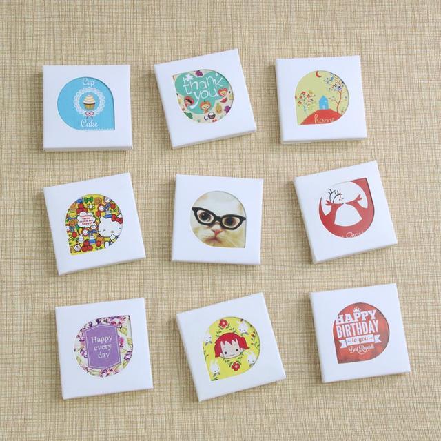 (38 pieces)/Lot Kawaii Cartoon Mini Paper Stickers Decoration DIY Scrapbooking Sticker Stationery