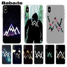 Babaite Alan Walker DJ Faded Multi Colors Luxury Phone Case For iphone 7 7plus X 8 8plus And 5 5s 6s 6s Plus Mobile Phone Case(China)