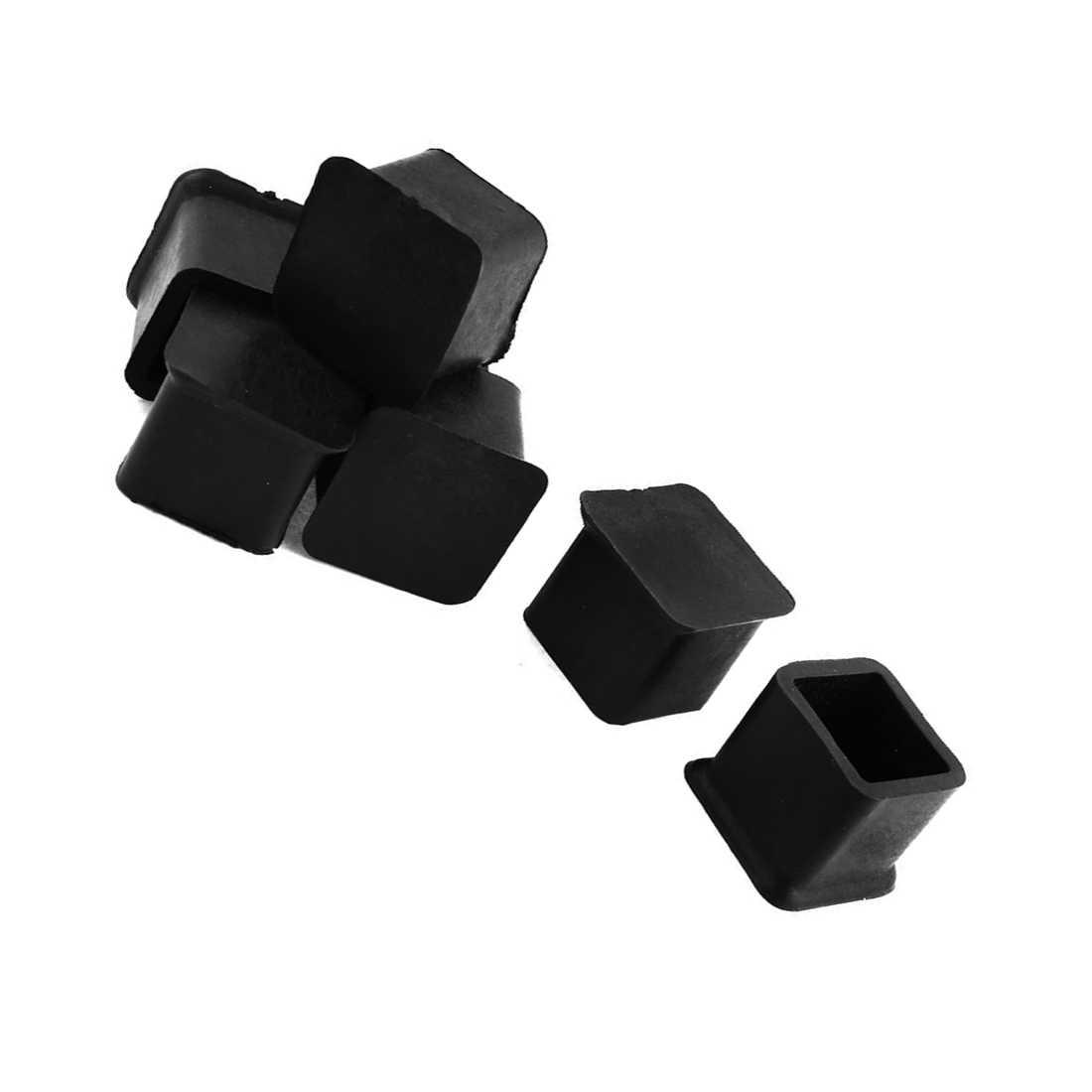 Venda quente mm x 20 20mm poltrona tampas móveis mesa perna pé covers 7 peças