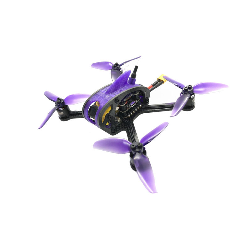 FullSpeed Leader 3SE 130mm FPV Racing Drone PNP F411 28A BLHELI_S 25/100/200/400/600mW VTX RC Quadcopter Racer Helicopter body craft f411