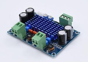 Image 4 - XH M572 TPA3116 D2 2*120 W yüksek güç dijital HIFI amplifikatör kurulu Ses AMP