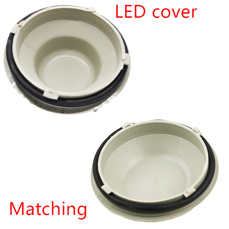Image 5 - 1piece LED dust csps extendedhid dustproof cover pvc Hard material headlamp waterproof dustproof for Highlander High lamp H9-in Car Light Accessories from Automobiles & Motorcycles