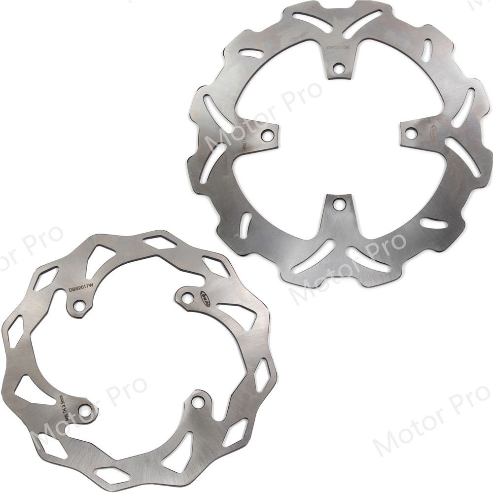 For Kawasaki KX250 2003 2004 2005 Front Rear Brake Disc Disk Rotor Kit Motorcycle Accessories KX 250 03 04 05 KX250F 250F FFor Kawasaki KX250 2003 2004 2005 Front Rear Brake Disc Disk Rotor Kit Motorcycle Accessories KX 250 03 04 05 KX250F 250F F