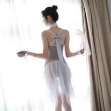 Erotic Wedding Dress White Tenue Sexy Underwear Lingerie Porno Costumes New Porn Women Hot