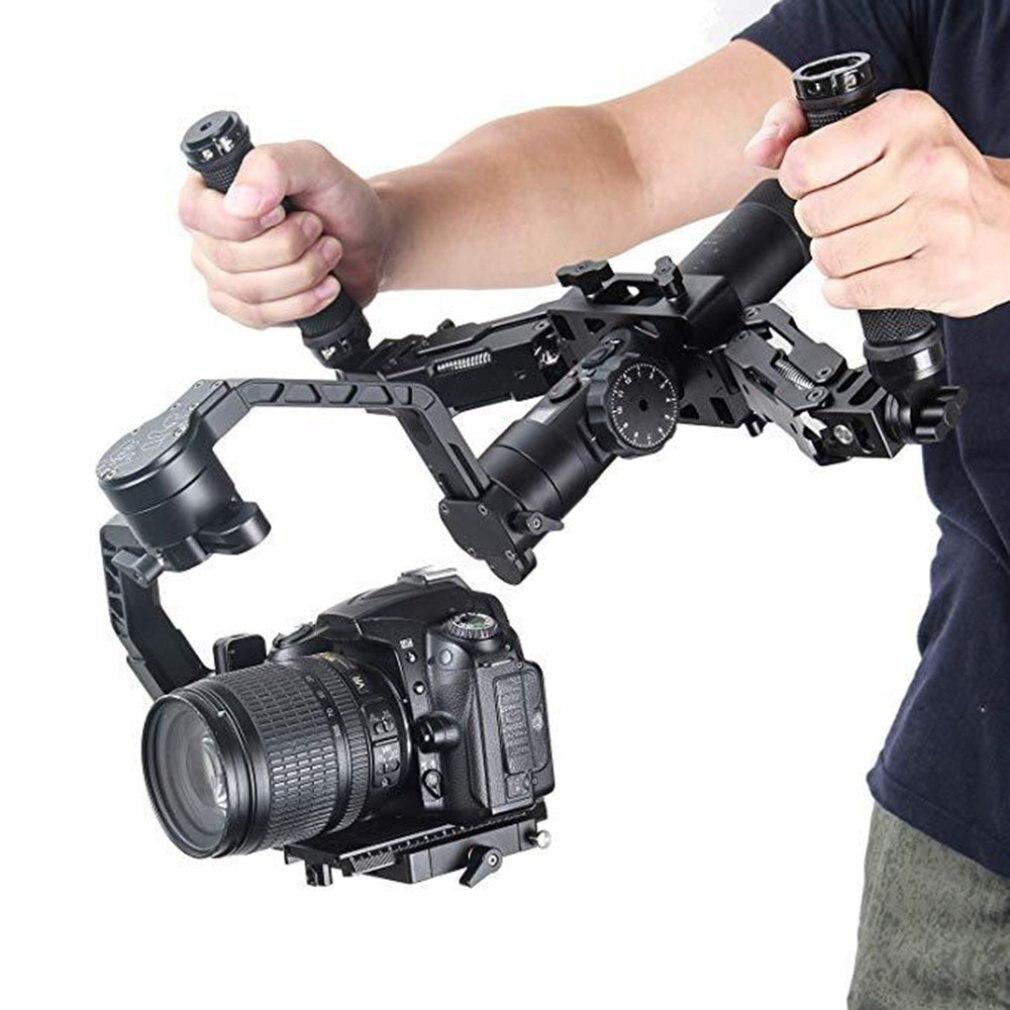 Flexible Absorption Des Chocs poignée de caméra Grip Support Guidon avec Printemps Amortissement Bras pour Feiyu a1000/a2000 RC Modèle Jouets Pièces