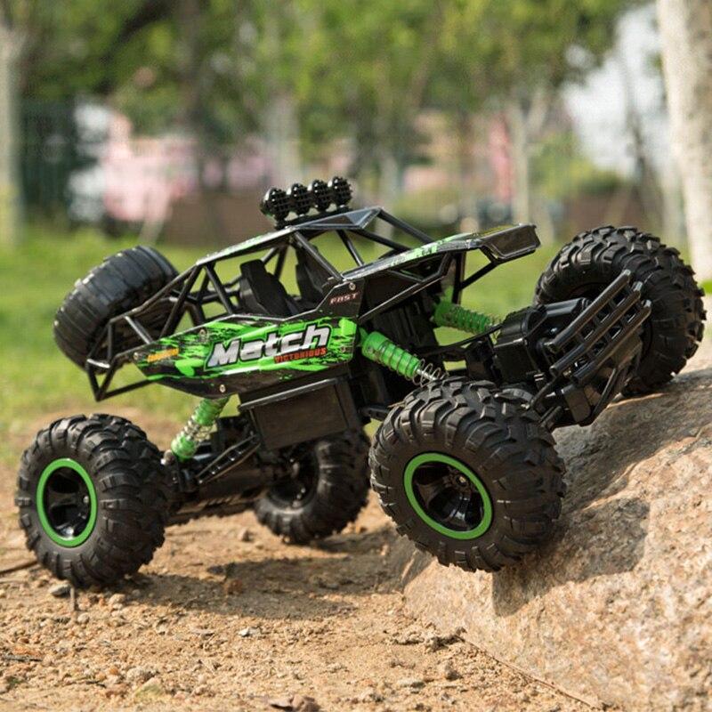 все цены на Large 37cm 1:12 RC Trucks Toy 4WD Radio Control Cars Toys 2018 High speed RC Trucks Off-Road Cars Toys for Children High Quality онлайн