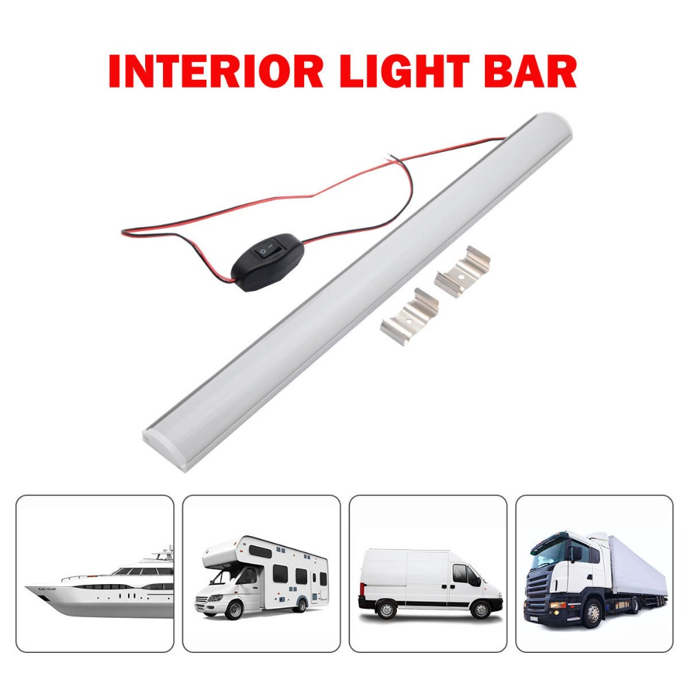 Motorhome Parts & Accessories 2x LED Strip Lights Bar Roof Light For
