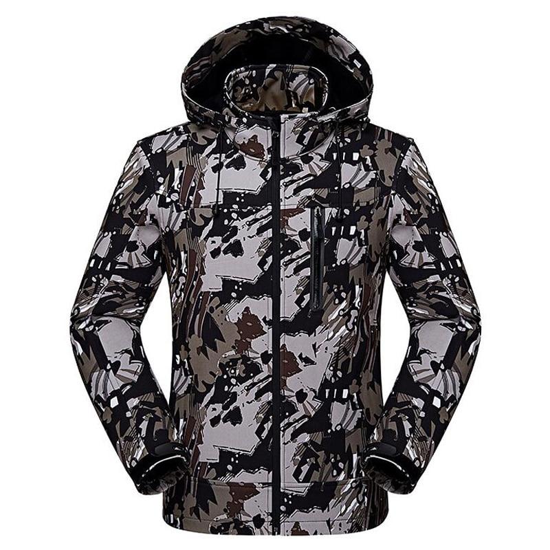 421d4d4058c81 Soft Shell Assault Clothing Male Camouflage Warm Fleece Spring Autumn Thin Jacket  Men Waterproof Windbreaker Hooded. US $29.00. Plus size ...