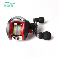 Baitcasting Reel Dual Brake System Reel 17+1BBS Fishing Reel for Saltwater Fishing 8.5KG Drag 6.3:1 Gear Ratio spinning fishing reel fishing line front drag system gear ratio 6 3 1 9bb 1 cnc handle rubber knob saltwater fishing reel wheel