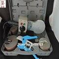 Бесплатная доставка с трубой резак температурный контроль ПВХ трубы сварочный аппарат AC 220 В 1200 Вт DN75-110mm пластиковый сварщик