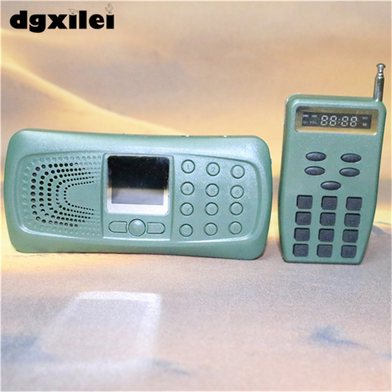 все цены на 2017 new model new ABS plastic mp3 bird caller for hunting electronic bird decoy bird caller онлайн