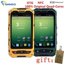 Original A8 IP68 A9 V9 Waterproof Shockproof Rugged Phone MTK6582 Quad Core Android 4.4 1GB 8GB 3G GPS NFC 5.0MP Mobile Phone F6