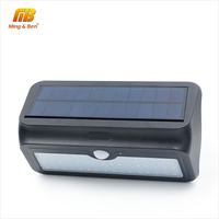 MingBen Waterproof LED Solar Light 24 37 46 LEDs Solar Panels Power PIR Motion Sensor