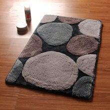 Round Design Bath Mats, Non-Silp Bathroom Carpet Set And Rug,Door Way Rug In The Toilet,Floor Mats For Toilet