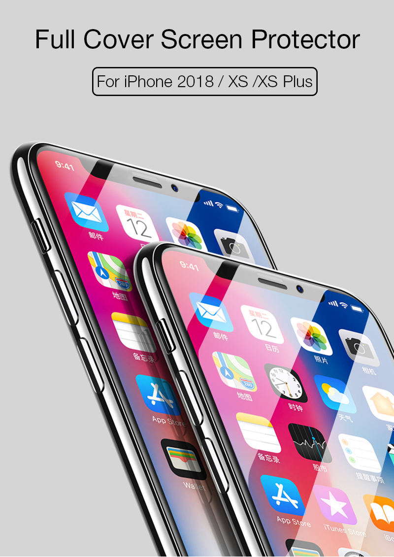 1. glass for iPhone xs