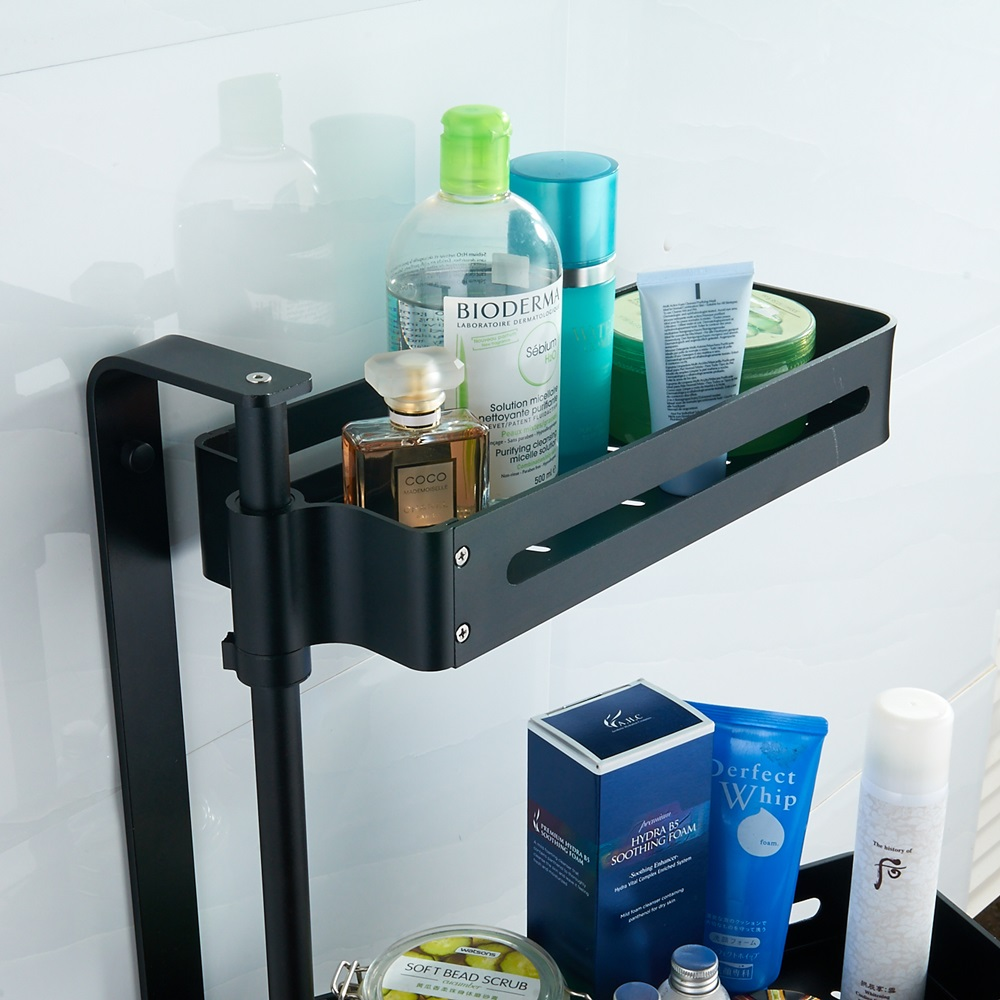 Movable corner shelf Bathroom Shower shelf Shampoo Soap corner ...