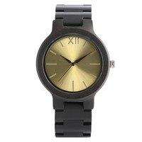 Hot Fashion Sandalwood Wristwatch Change Metal Color Face Unique Unisex Deco Watch Cool Student Clock Creative