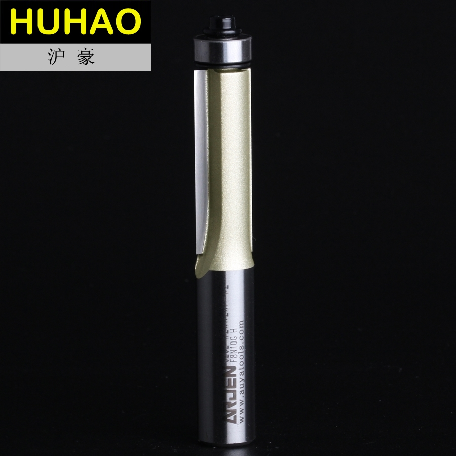 Trimming Cutters Ball Bearing Flush Trim Router Bits Long Straight Bit Router bit - 1/2*1/2*1-1/2 - 1/2 Shank - Arden A0202018 1 2 5 8 round nose bit for wood slotting milling cutters woodworking router bits