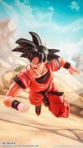 Image 5 - Demoniacal apto ssj goku kaiohken figura de ação escarlate artes marciais artista kaiouken dragon ball z brinquedo filho gokou brinquedos 1/12