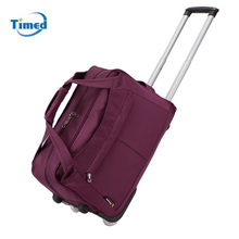 Fashion Travelbag Tourism Women&Men Travel Bags Trolley Travel Bag With Wheels Rolling Carry on Luggage Bags Wheeled Bolsas