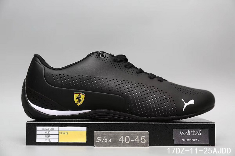 9071cd73e 2019 New Arrival Puma Men's Shoes Lightweight Sports Shoes Ferra ri Drift  Cat 5 Racing Shoes Leather Low top Badminton Shoes-in Badminton Shoes from  Sports ...