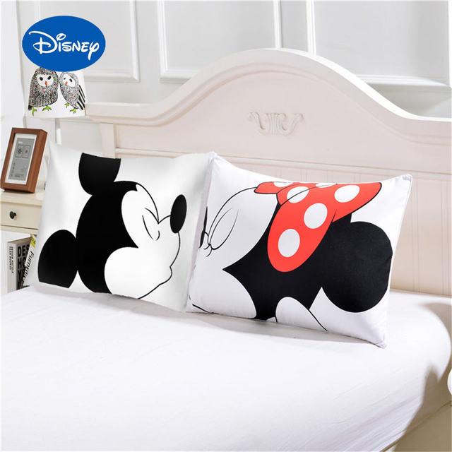 Bacio Disney Mickey e Minnie Mouse Federa del Cuscino sham Copertura del Queen K