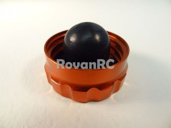 Rovan 1/5 Scale CNC Orange Aluminum Gas Cap HPI Baja 5b buggy, 5t Truck Nice!