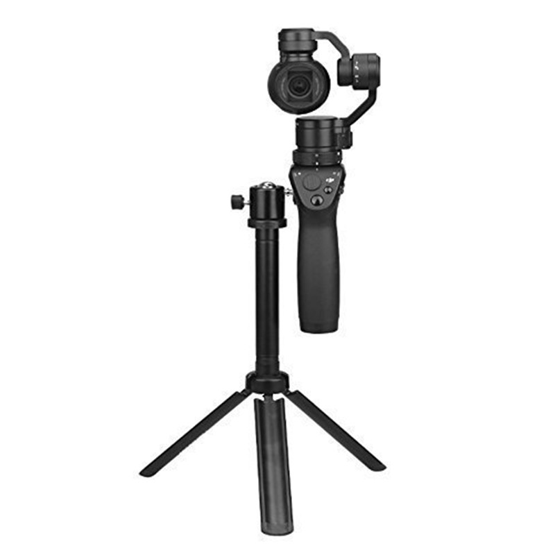 лучшая цена Best Price Integrated Tripod Flat Bracket for DJI Osmo/OSMO Mobile Handheld Gimbal Accessories