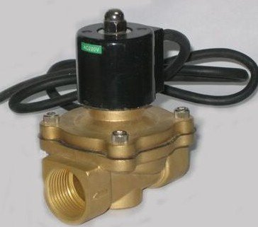 G2'' Large Flow Waterproof Solenoid Valves Under Water Type IP68 Class Model 2W500-50-G free shipping g1 2 ip68 under water solenoid valve waterproof type brass 2w160 15 g standard voltages 5pcs per lot