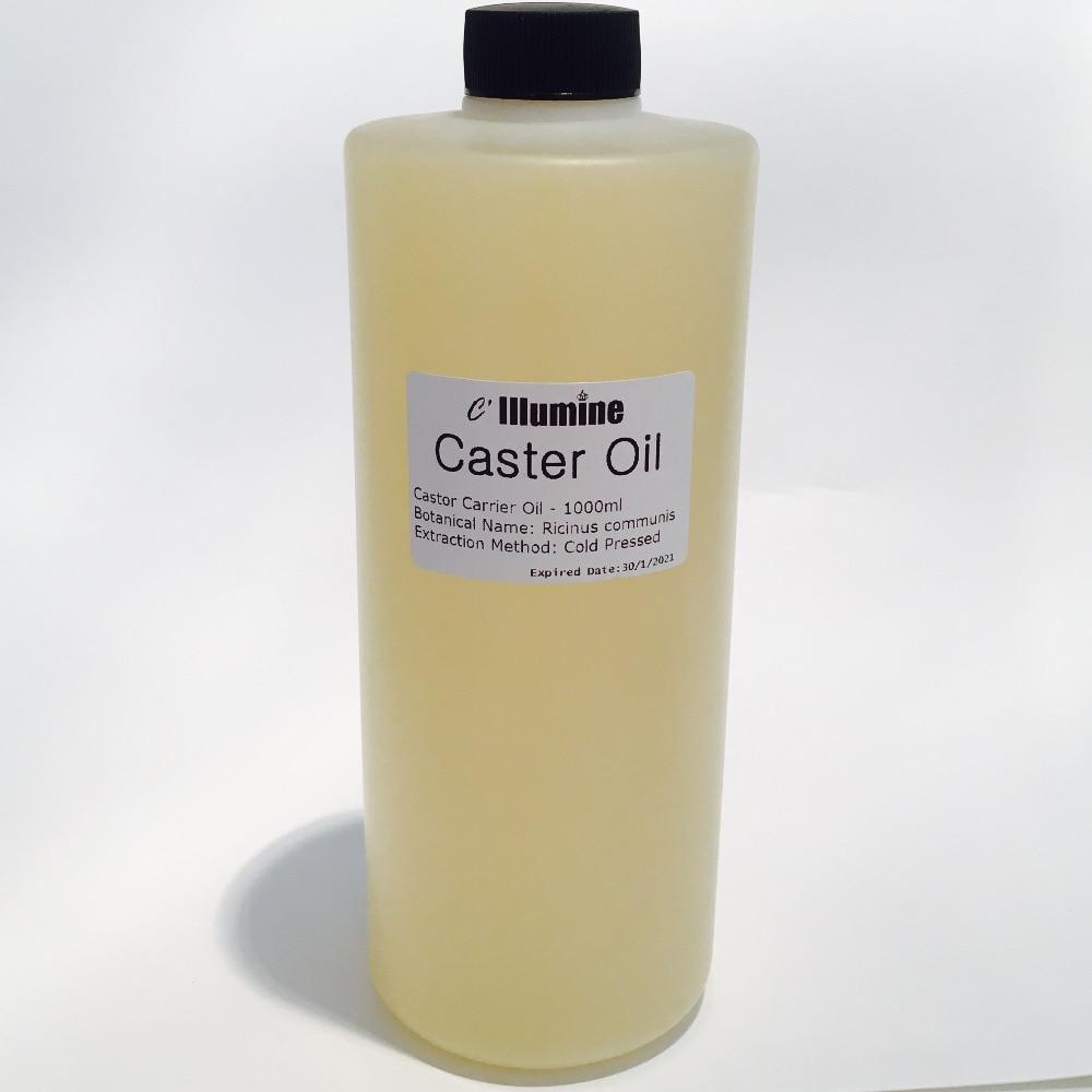 Castor Base Oil Ricinus Communis L.Oils 1000ml Natural Cold-pressed