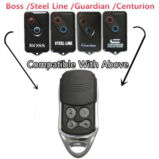 303 Mhz Garage Door Remote Control Universal Car Gate Cloning Remote