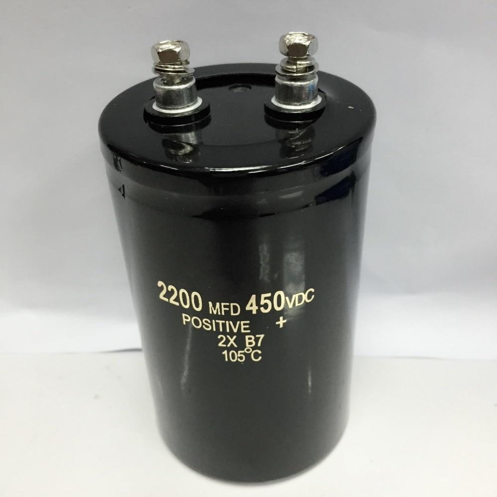 Condensador electrolítico de 2200uF, 450V, 105C, 450V2200UF, 50x105mm