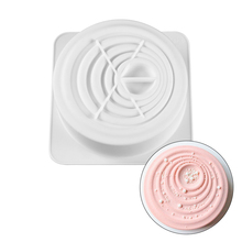 Round Shaped For Cake Decorating 3D Silicone Mold Fondant Mousse Dessert Moulds Hot Baking Pastry Cakes Pan